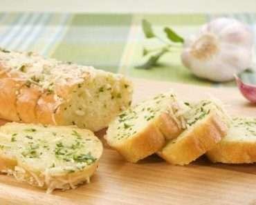 Receita de Pão de Alho Vegano