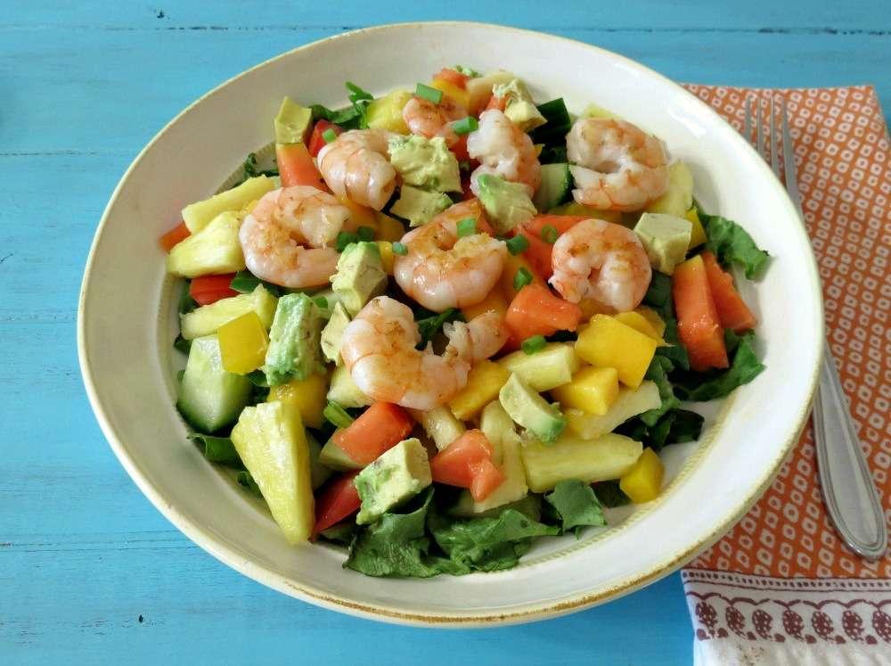 Receita de Salada Tropical Ana Maria Braga