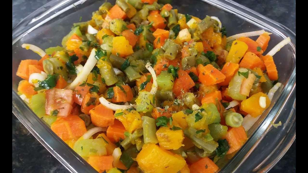 Receita de Salada de legumes cozidos Tudo Gostoso