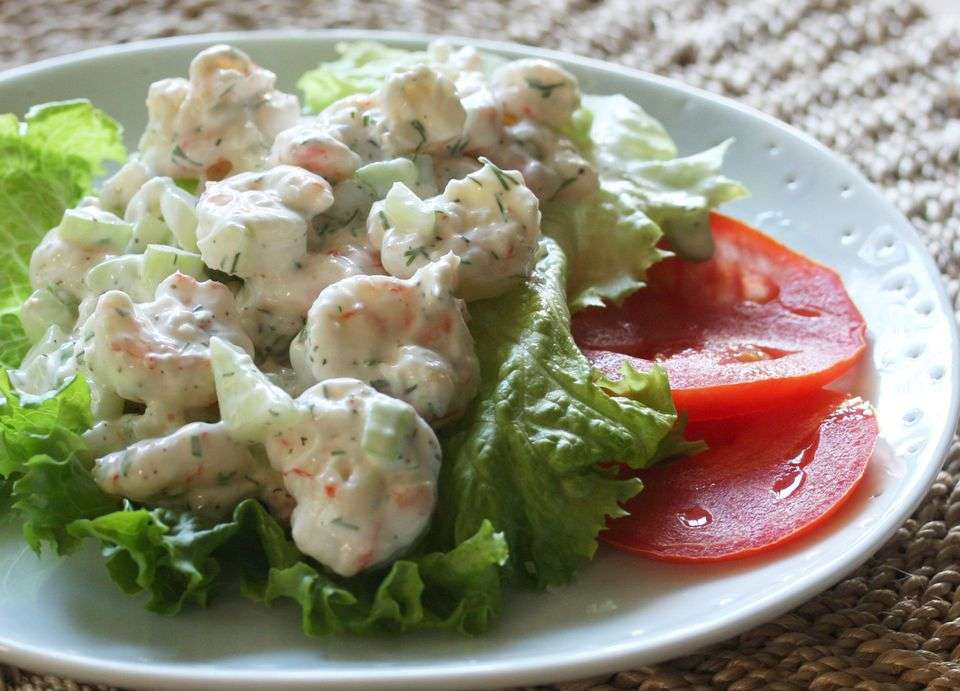 Receita de Salada de maionese básica e simples