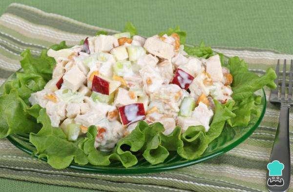 Receita de Salada tropical de Natal
