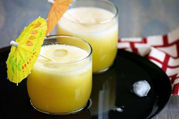 Receita de Suco de abacaxi com hortelã Diferente