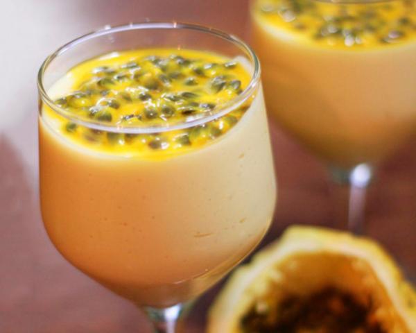 Receita de Suco de maracujá com leite condensado