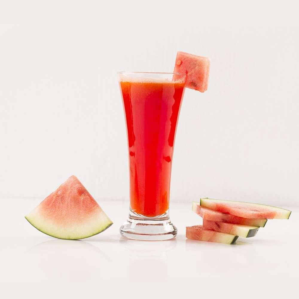 Receita de Suco de melancia e água de coco