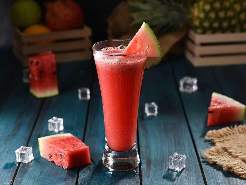 Receita de Suco de melancia e chia