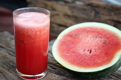 Receita de Suco detox de açaí e melancia