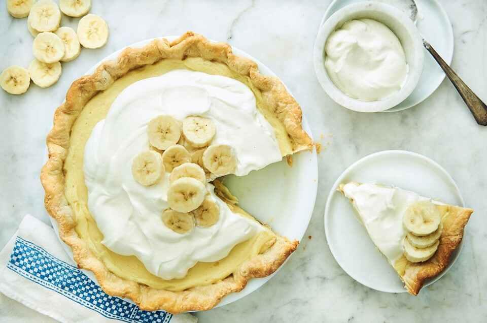Receita de Torta de banana Simples