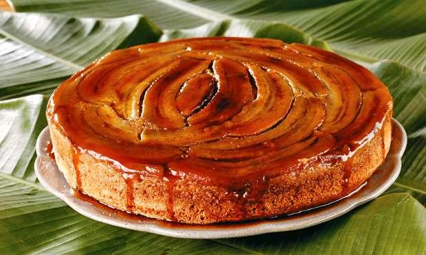 Receita de Torta rápida de banana da Vovô