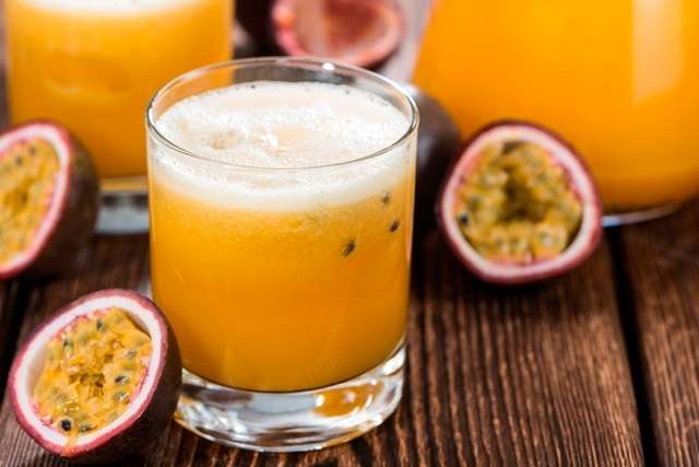 Receita de suco de maracujá para emagrecer