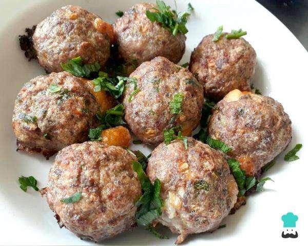 Receita de Almôndega de carne no forno