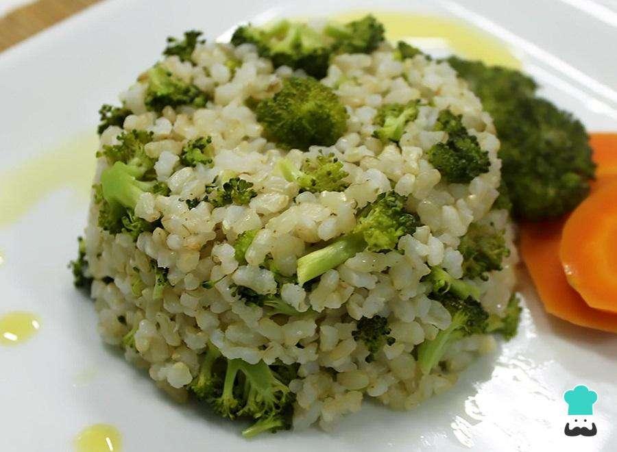 Receita de Arroz com brócolis simples