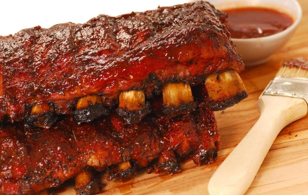Receita de Carne assada com vinho do porto e molho barbecue
