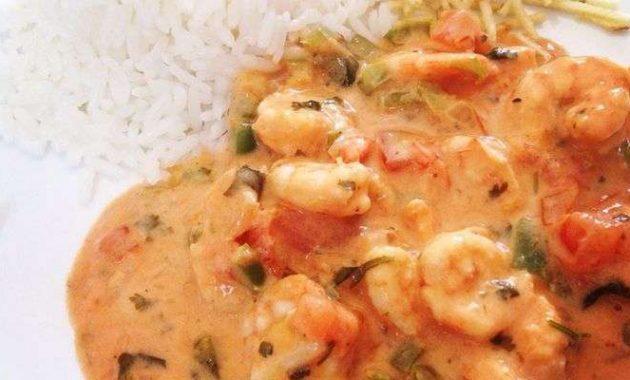 Receita de Estrogonofe de camarão