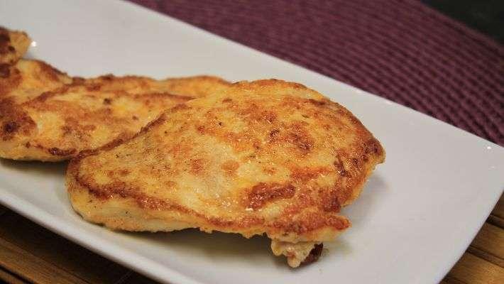 Receita de Filé de frango grelhado com limão