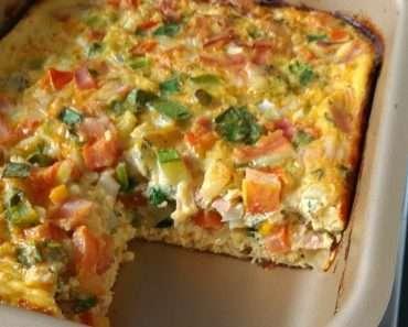 Receita de Omelete de forno Tudo Gostoso