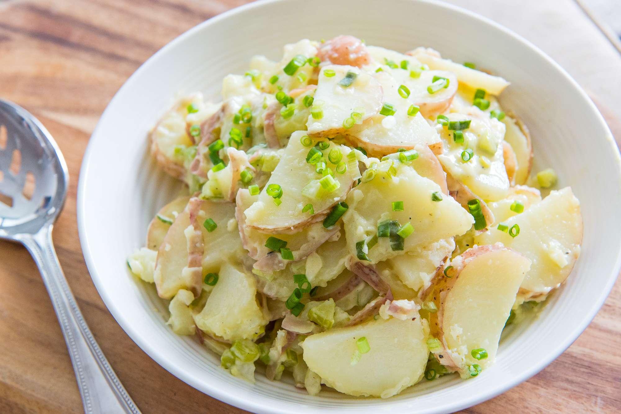 Receita de Salada de Sardinha com Batata