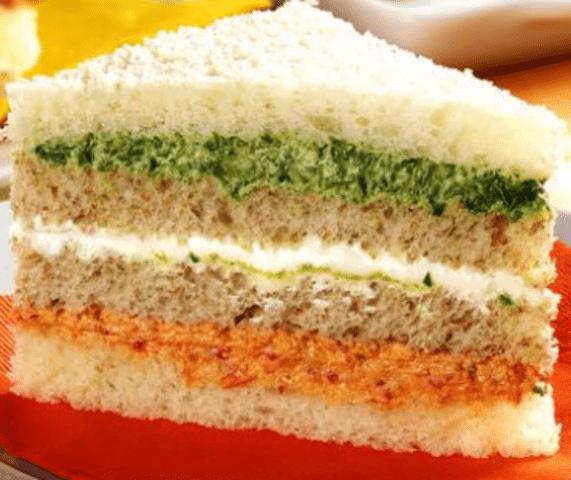 Receita de Sanduíche fit colorido