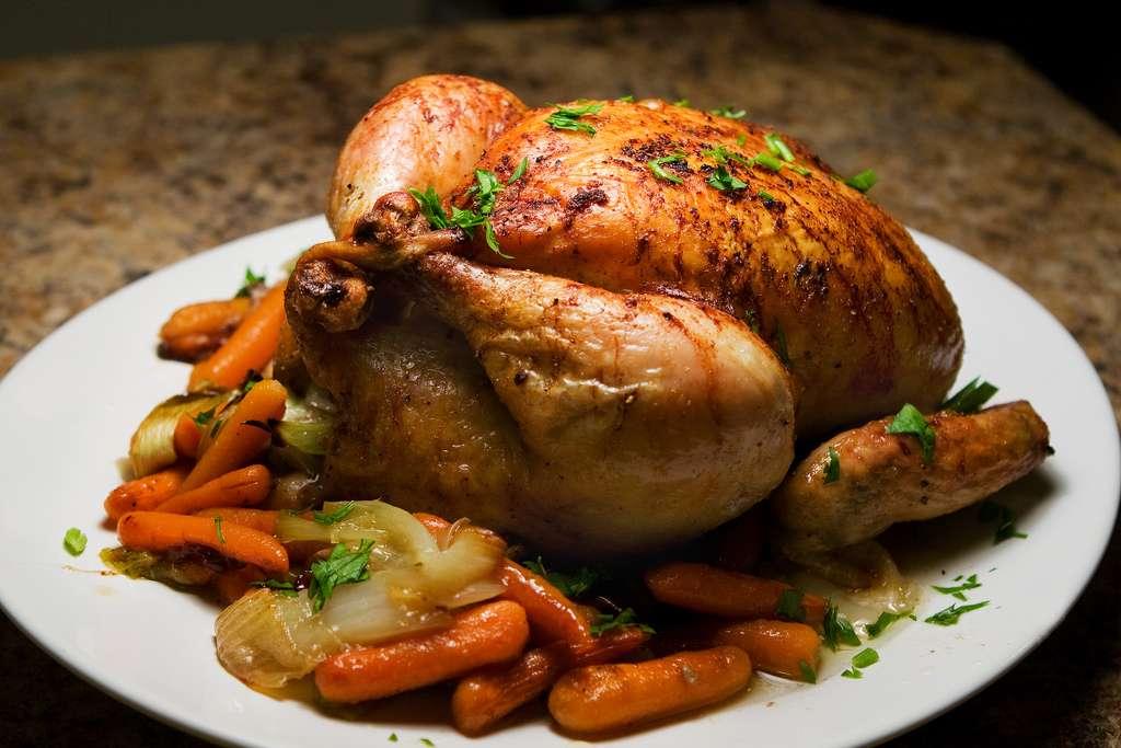Receita de Coxa de frango assada no forno com maionese