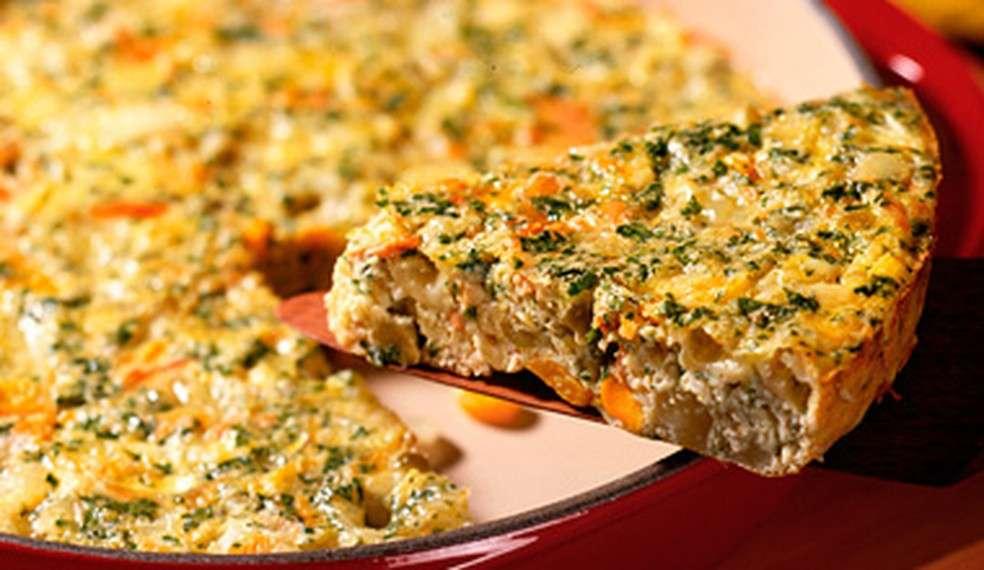 Receita de Omelete de forno Ana Maria Braga