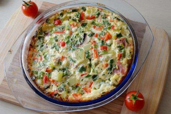Omelete de Forno | 20 Ideias Maravilhosas de fazer Ovo Cozido no Forno de várias maneiras selecionadas para o seu Café da Manhã