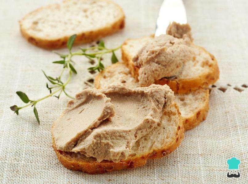 Receita de Patê de frango para sanduíche natural