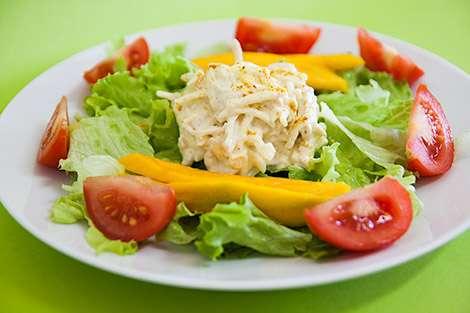 Receita de Salada de Frango Fitness Rápido