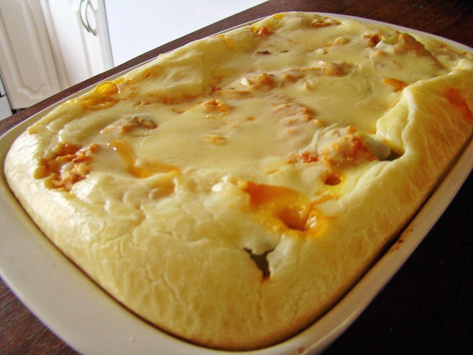 Receita de Torta de Carne Moída Simples