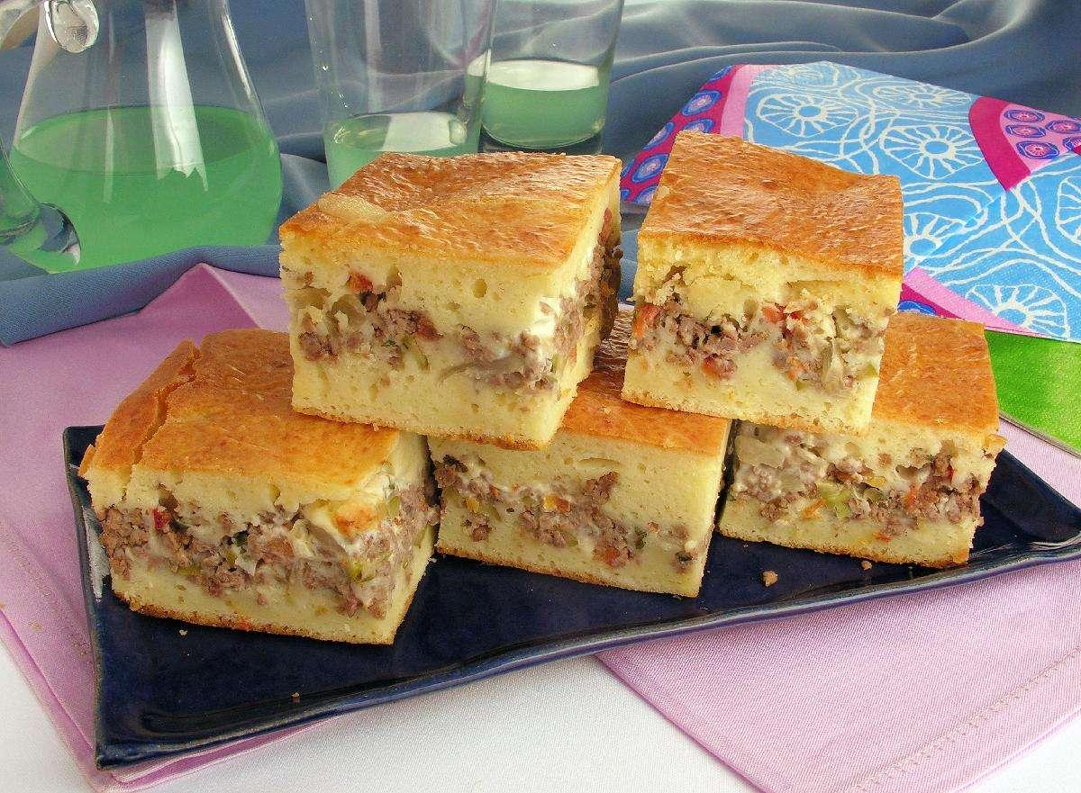 Receita de Torta de liquidificador com carne moída Feito em Casa