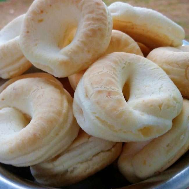 Receita de biscoito de queijo com margarina
