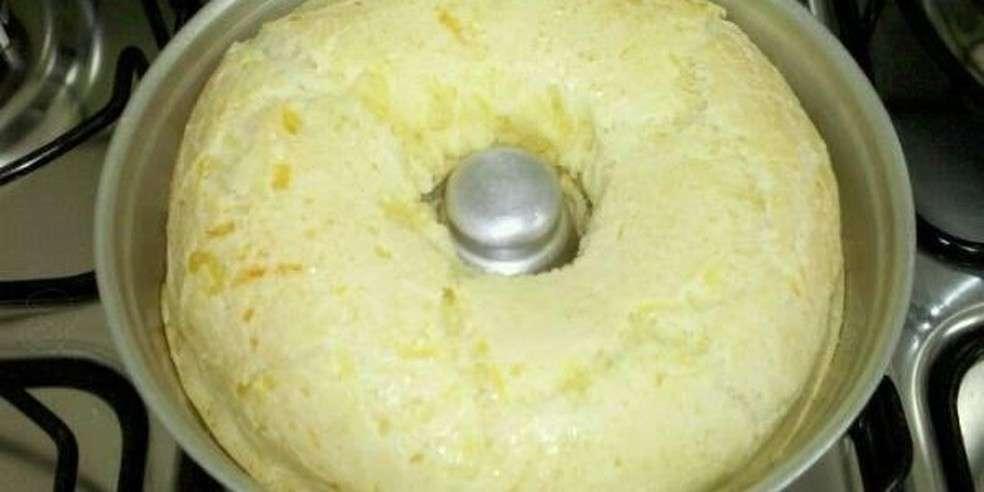 Receita de bolo de pão de queijo Ana Maria Braga