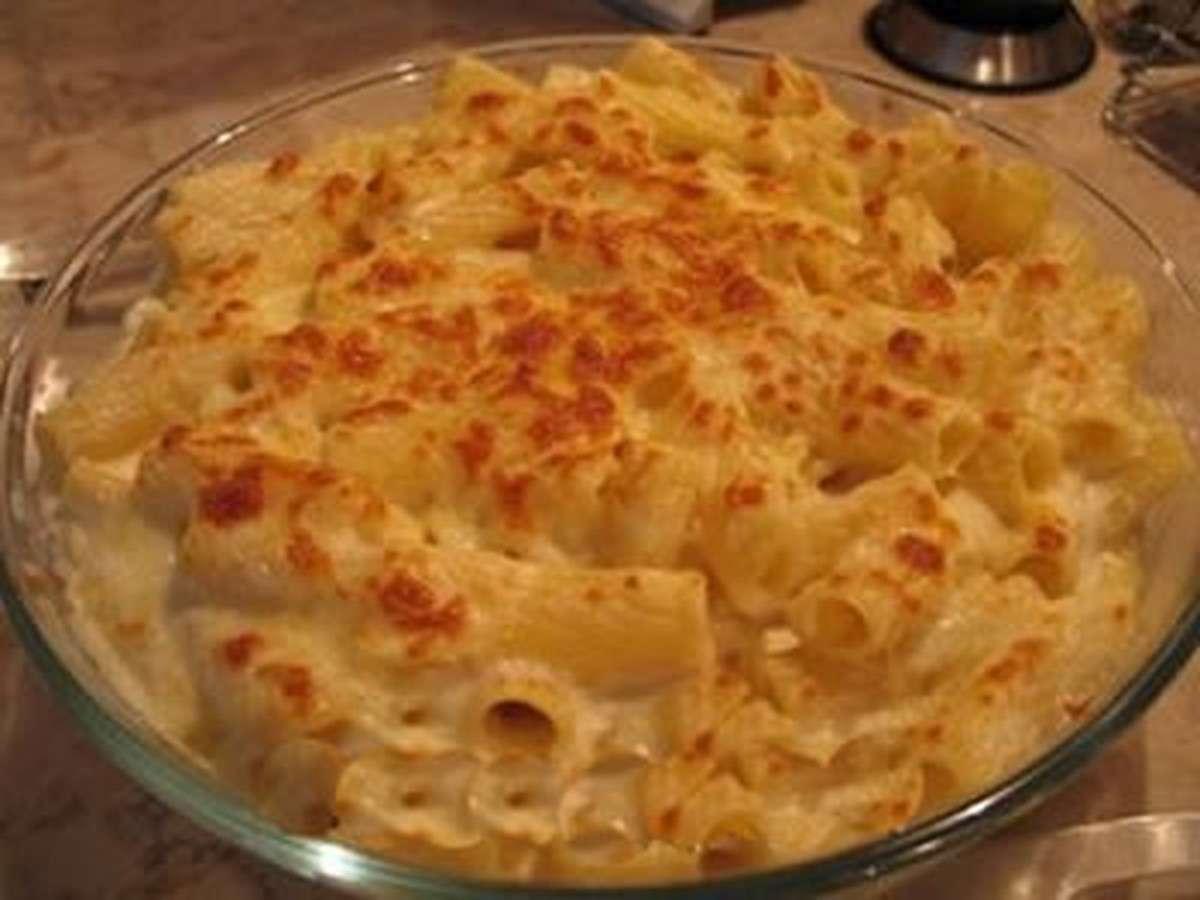 Receita de macarrão com queijo fácil