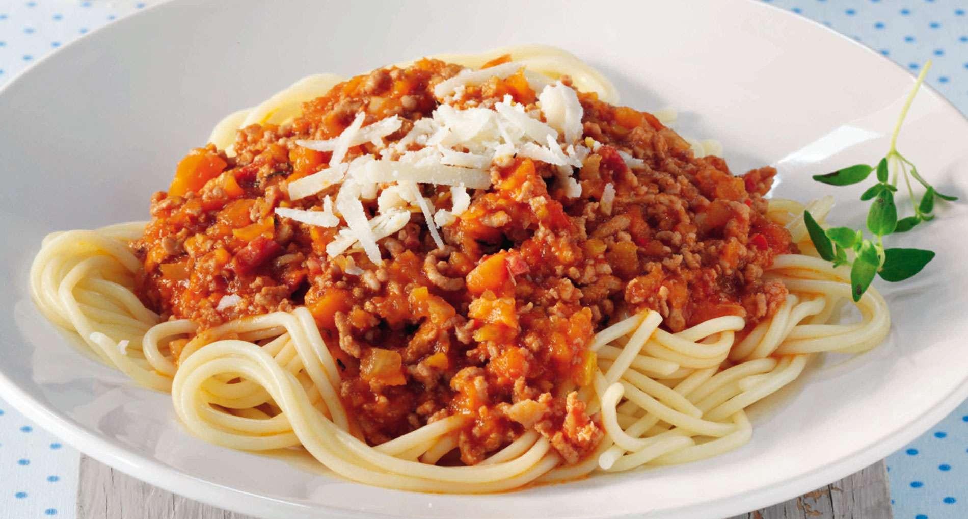 Receita de Esparguete à Bolonhesa Caseira