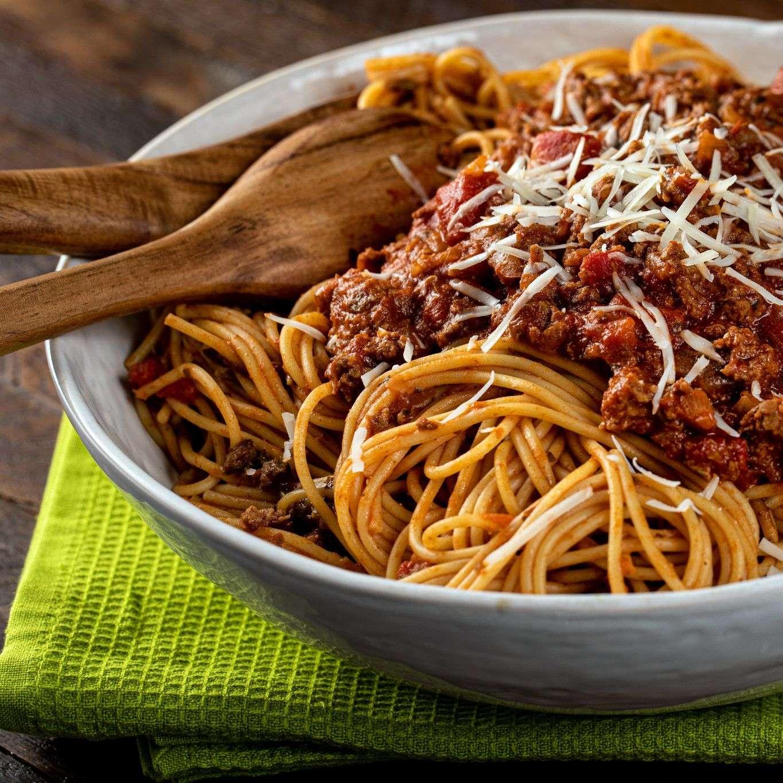 Receita de Esparguete à Bolonhesa Maravilhosa