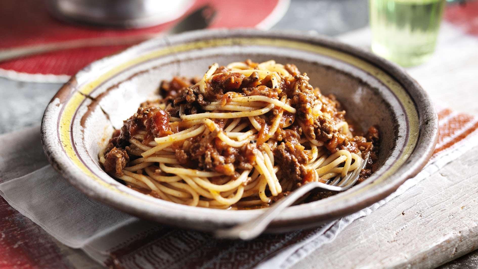 Receita de Esparguete à bolonhesa Tudo Gostoso