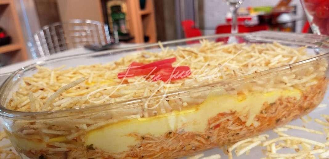 Receita de Fricassé de frango tradicional Edu Guedes