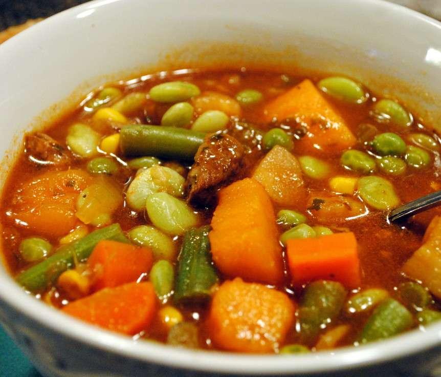 Receita de Sopa de Ervilha com Musculo