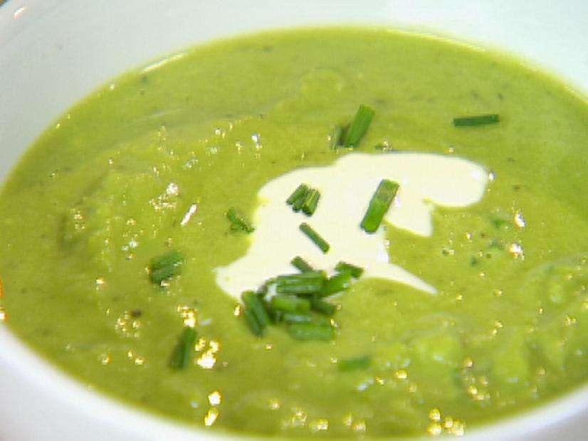 Receita de Sopa de puré de ervilhas