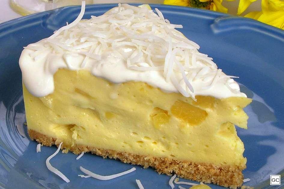 Receita de Torta de Abacaxi da Vovô