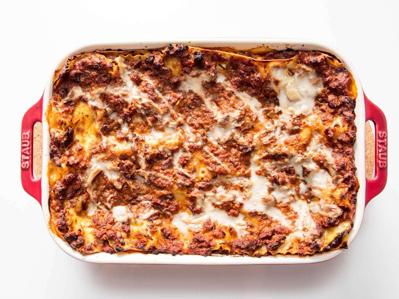 Receita de lasanha à bolonhesa Ana Maria Brogui