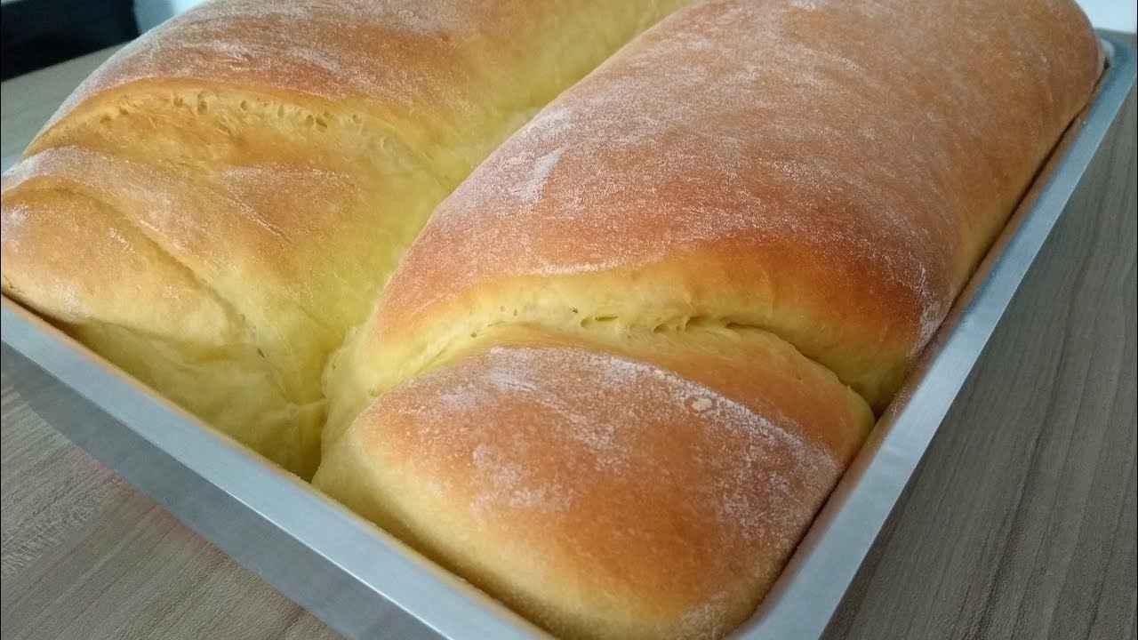 Receita de Pão Caseiro Simples com Fermento Seco