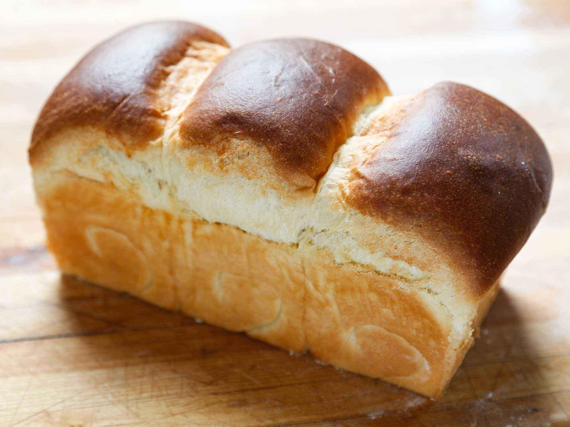 Receita de Pão caseiro gordo e delicioso
