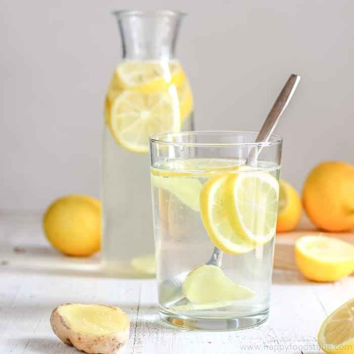Receita de Suco de limão com casca