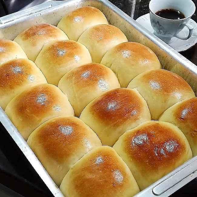 Receita de pão caseiro simples e Fácil