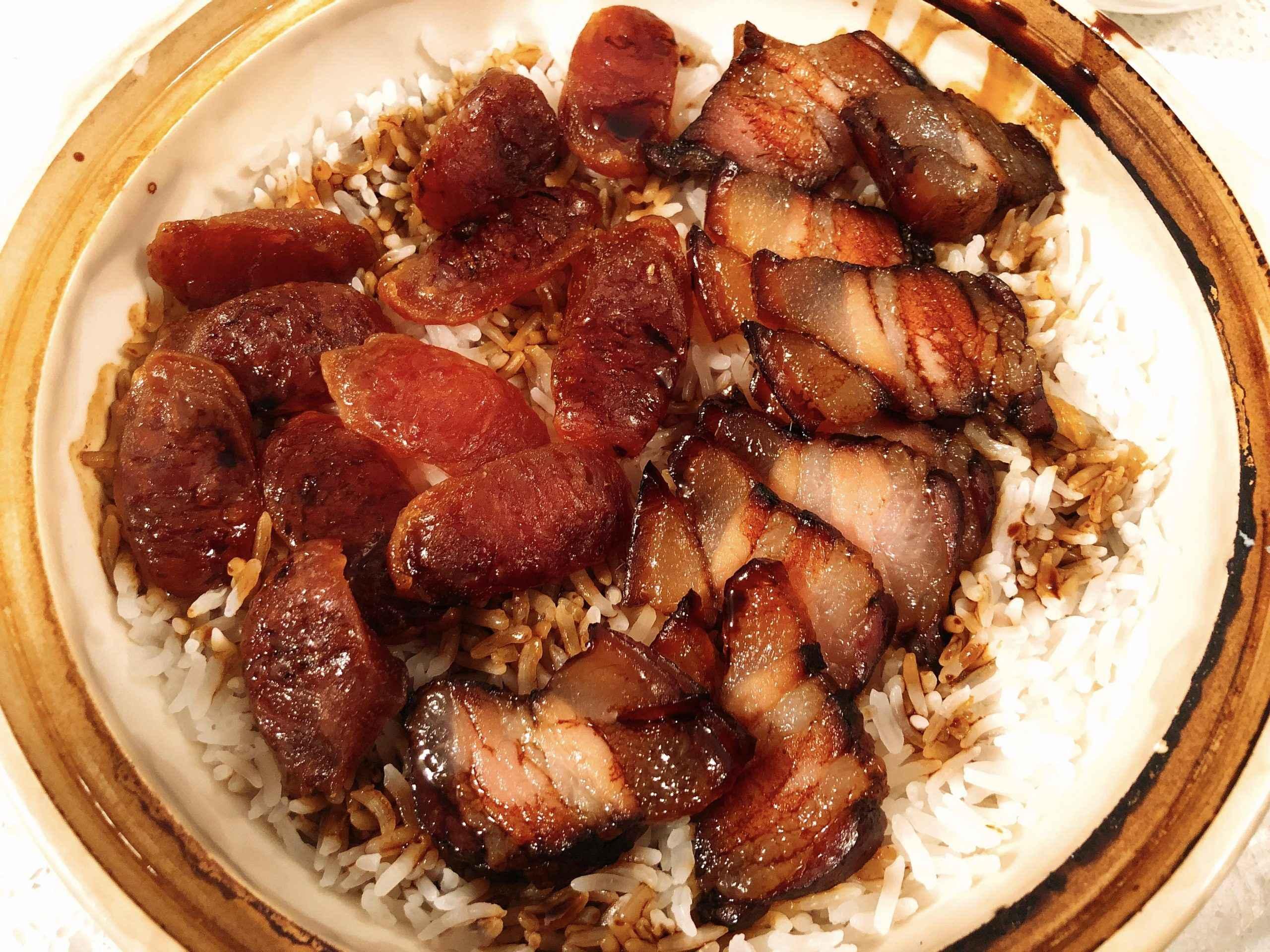 Receita de Arroz com Bacon e Linguiça