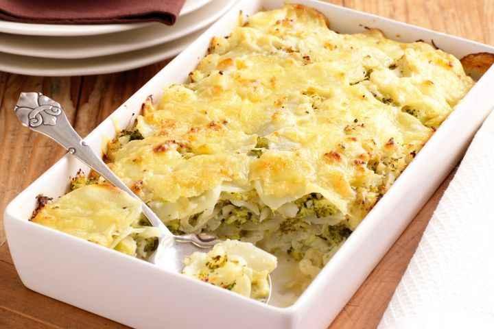 Receita de Brócolis gratinada com fácil e rápido