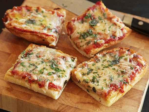 Receita de Pizza de Pão de Forma Tudo Gostoso