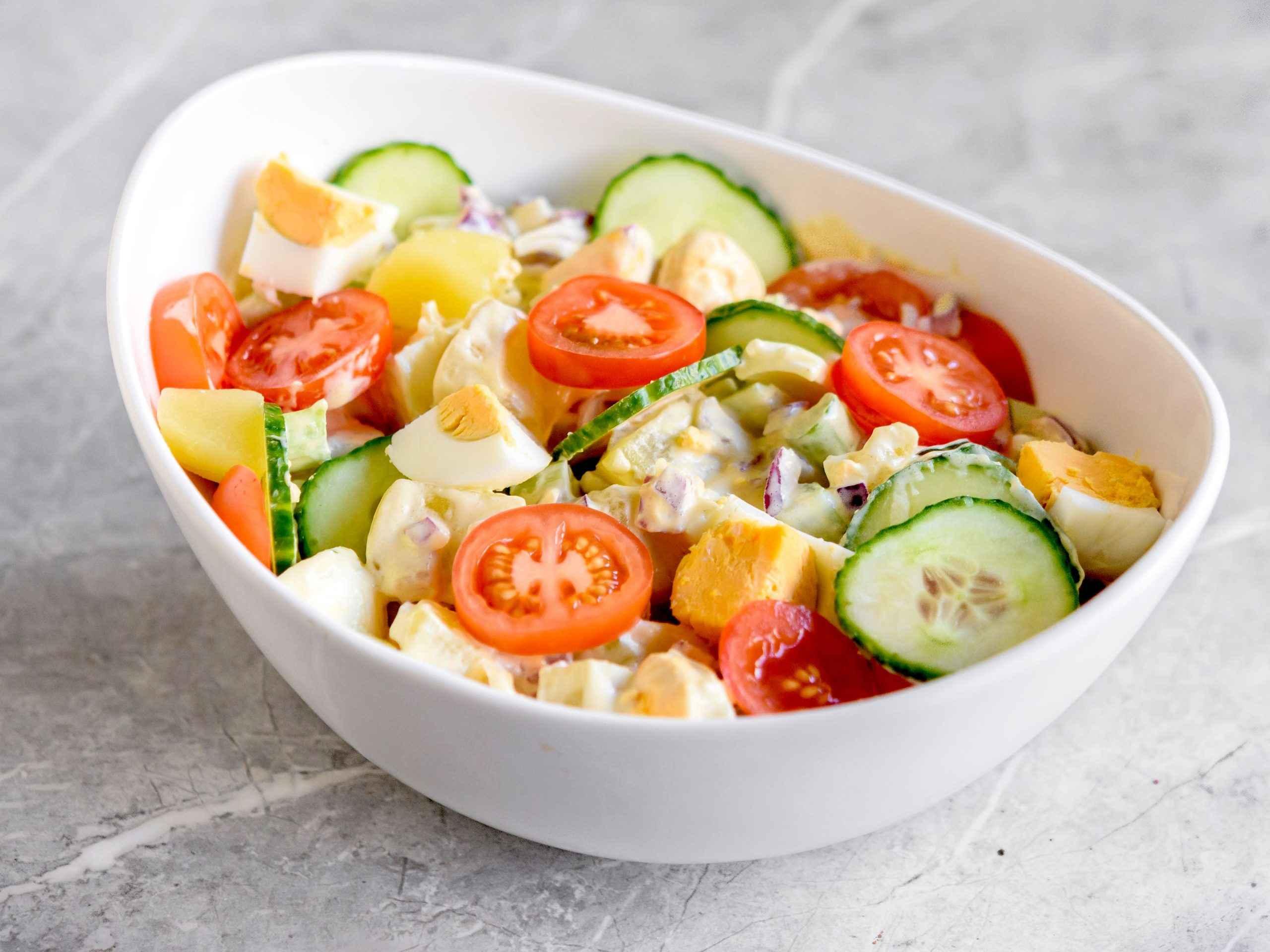 Receita de Salada de Batata Diferente