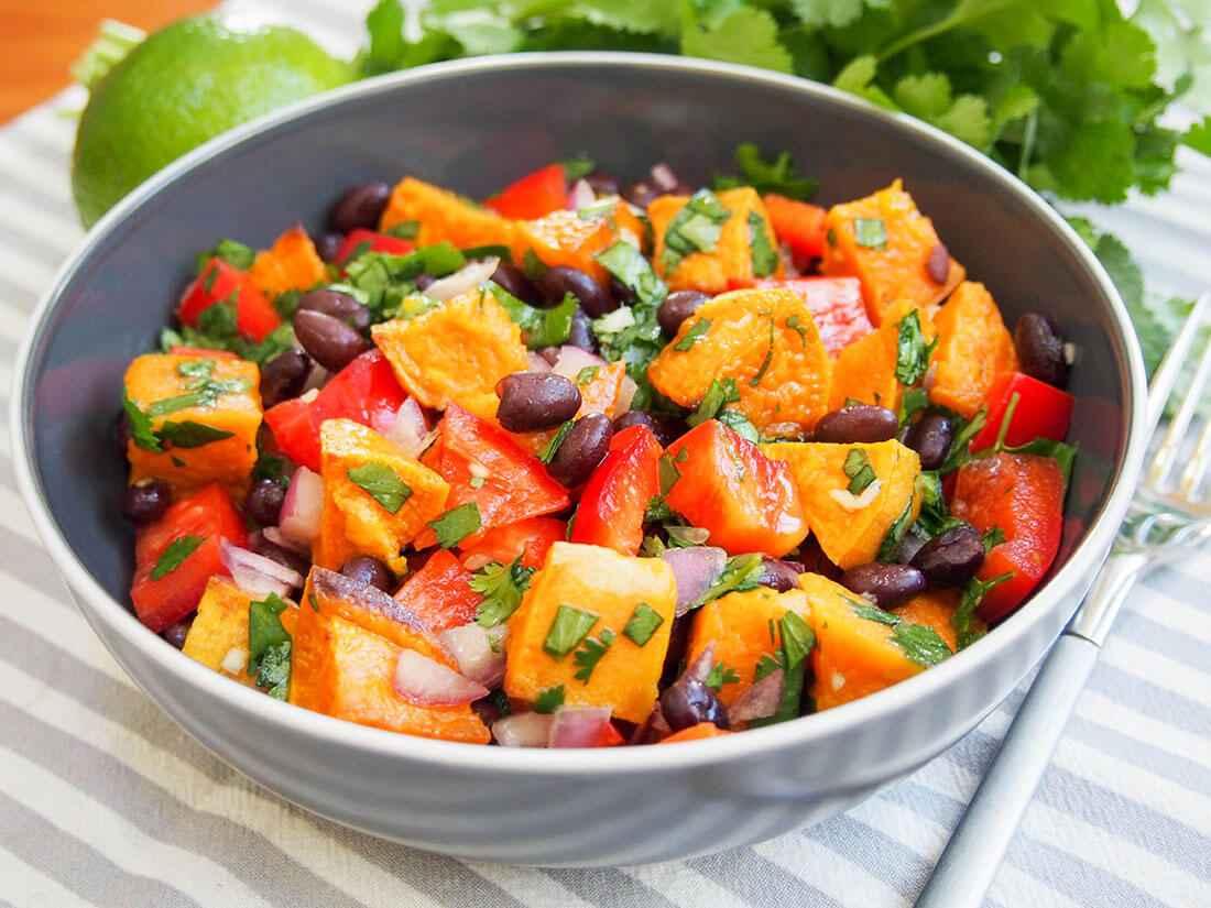 Receita de Salada de Batata Doce