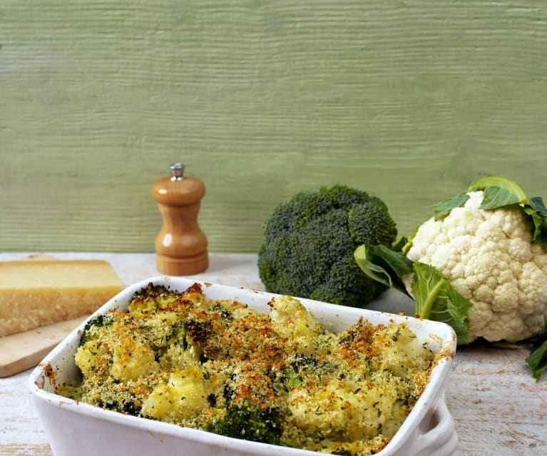 Receita de brócolis Gratinada com Batata Tradicional