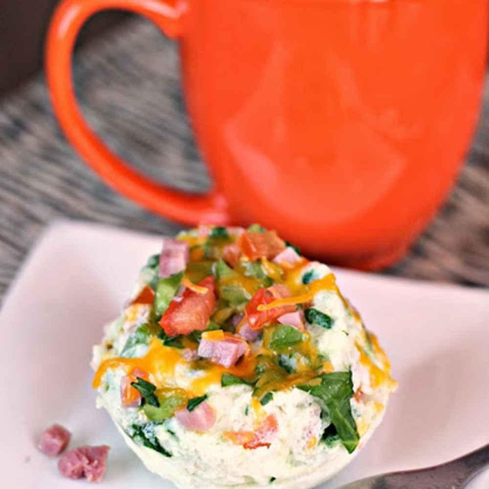 Receita de omelete de microondas Edu Guedes